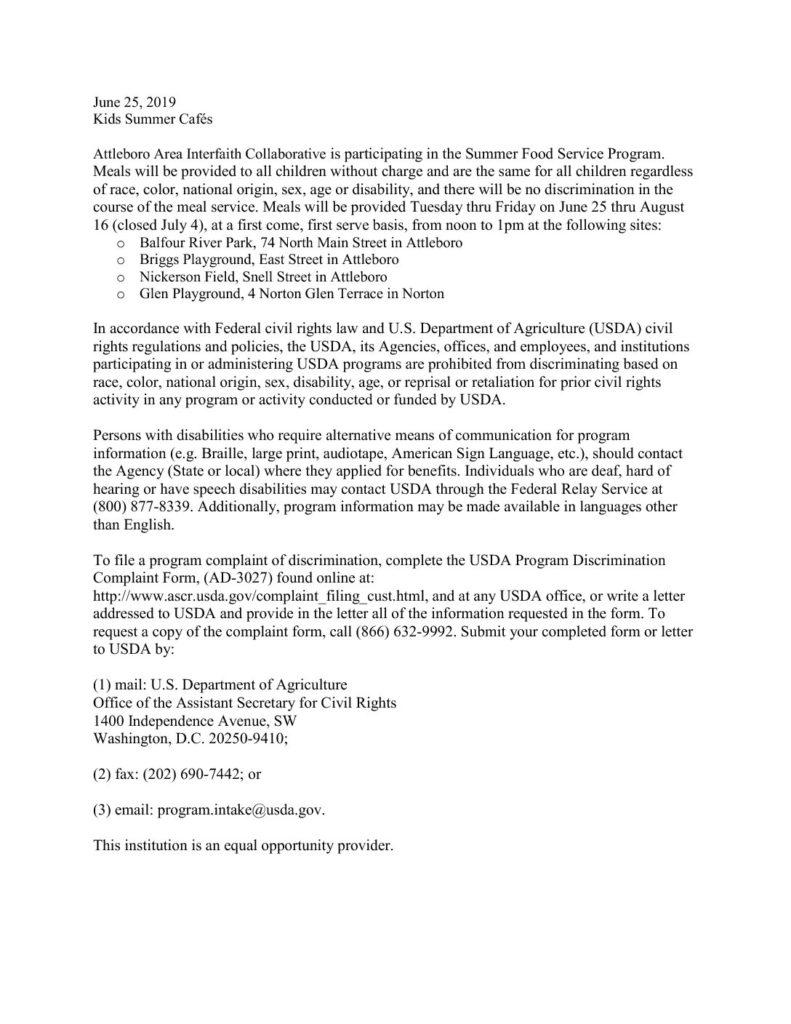 Attleboro Area Interfaith Collaborative | Diverse Faiths  Joint